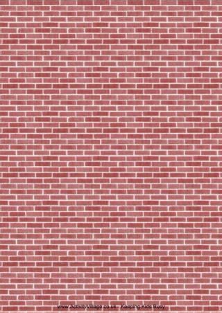 Paper Brick - brick paper 1 diy paper dolls houses etc