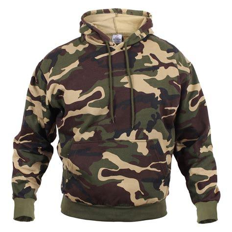 camo sweatshirts rothco 174 camo pullover hooded sweatshirt