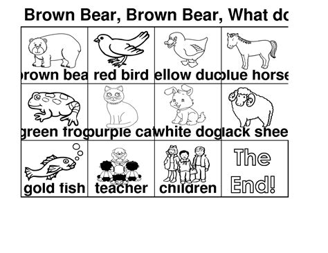brown coloring book brown coloring page eric carle coloring home