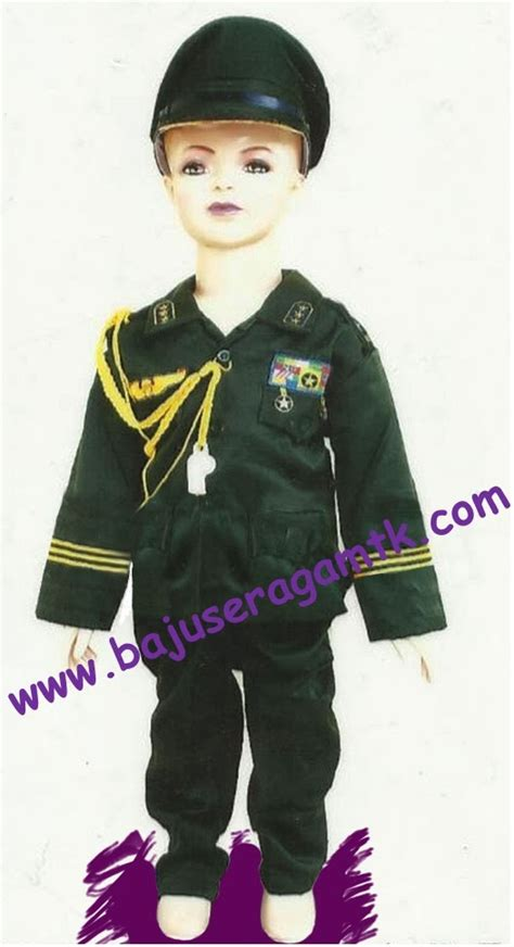 baju tni ad jual kostum anak baju profesi anak baju pemadam kebakaran