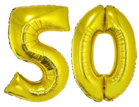 Goldene Hochzeit Set by Folienballons Luftballon Set Goldene Hochzeit 50 Jahre