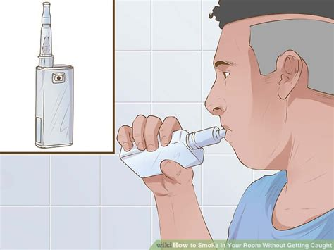 how to smoke in your room without it smelling 3 ways to smoke in your room without getting wikihow