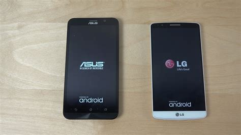asus zenfone 2 vs lg g3 which is faster 4k
