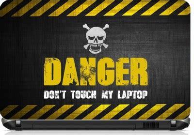 Home Decor Flipkart by 58 Off On Limbooz Danger Don T Touch My Laptop Vinyl