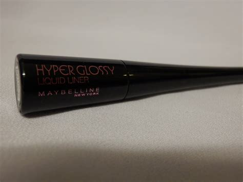 Maybelline Hyper Glossy Liquid Liner In Black just another maybelline hyper glossy