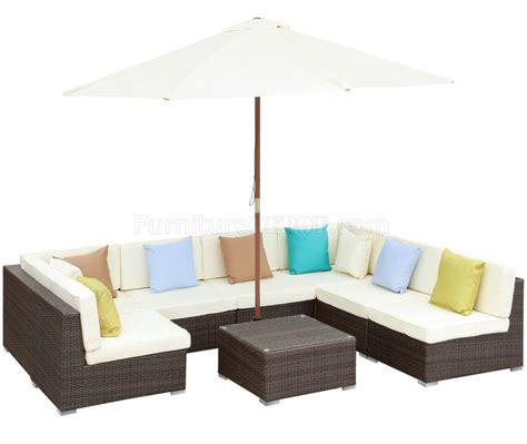 monterey outdoor patio sectional sofa set by modway