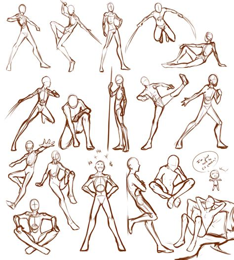Drawing References Poses by Poses By Lunalli Chan Deviantart On Deviantart