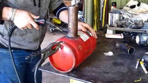 Garage Shop Plans by How To Build A Waste Oil Burner For Heating Scrapping Or