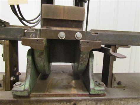 bench master benchmaster mechanical 4 ton punch press obi 1 2hp 1 1 4
