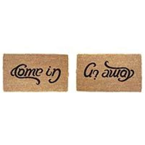 Come In Go Away Door Mat by Front Back Yard Ideas On 519 Pins