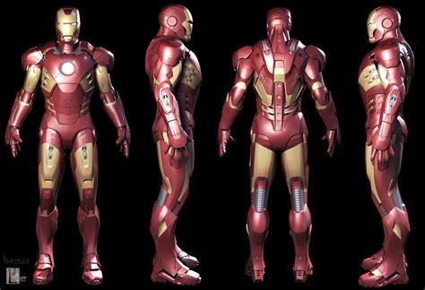 image iron man mark vii armored suit model