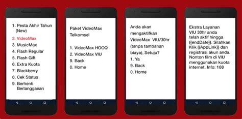 kegunaan paket videomax dan youthmax apa itu kuota videomax telkomsel untuk apa dan cara
