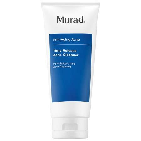 Do Detox Cleanser Cause Breakouts by Time Release Acne Cleanser Murad Sephora