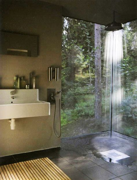 open shower ideas 37 amazing bathroom designs that fused with nature