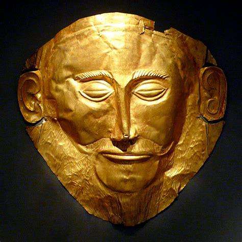 Masker Gold agamemnon