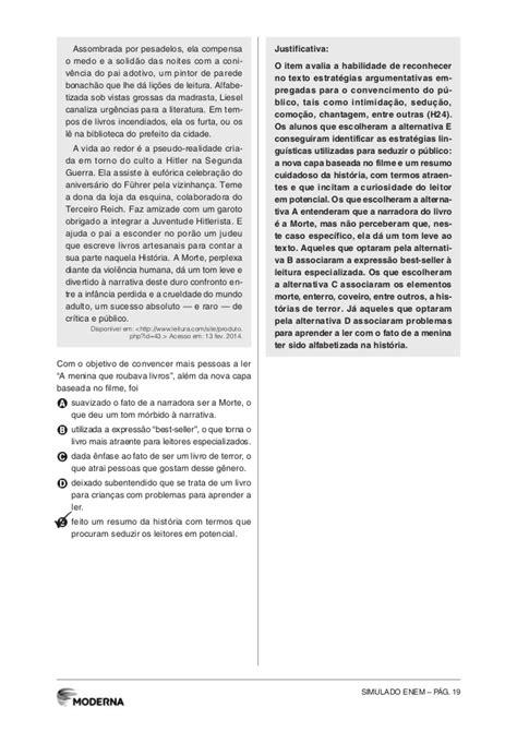 Simulado ENEM - Linguagens, Códigos e suas Tenologias