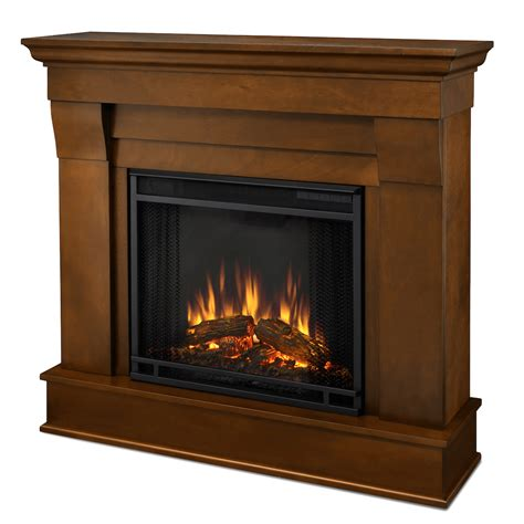 Chateau Fireplaces by Real Chateau Electric Fireplace In Espresso