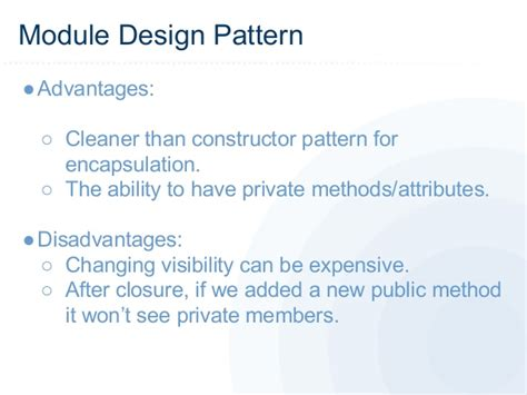 js module pattern constructor quot the javascript design patterns you have to know quot by