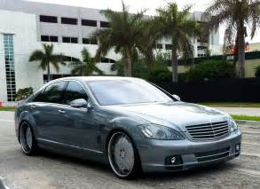 Custom S500 Mercedes Blue Gray Customized S Class Mercedes Cars