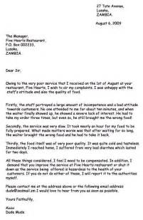 12 best sle complaint letters images on