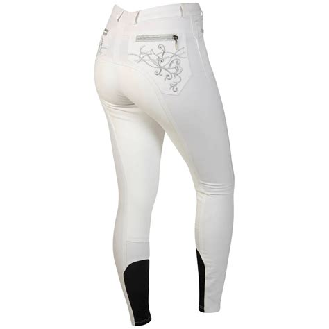 fits seat white breeches montar bamboo seat competition breeches