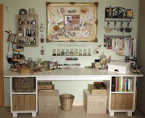 home decorating pictures vintage craft room ideas - Vintage Craft Room