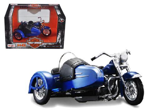 Maisto 1 18 Harley Davidson 1952 Fl Hydra Glide Sidecar Motorcycle Bik diecast model cars wholesale toys dropshipper drop
