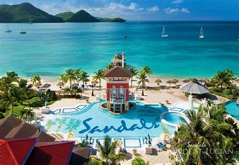 sandals grand st lucia sandals grande st lucian spa resort vacations
