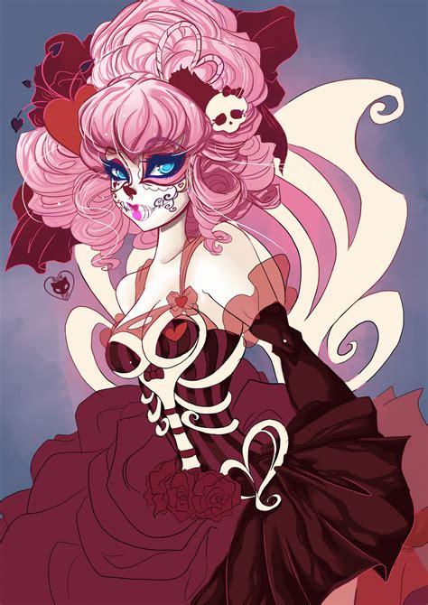 imagenes de emo muertos day of the dead c a cupid by meownyo deviantart com on