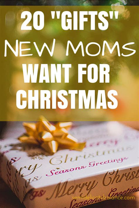 gifts for new moms here are 20 quot gifts quot new moms want for christmas