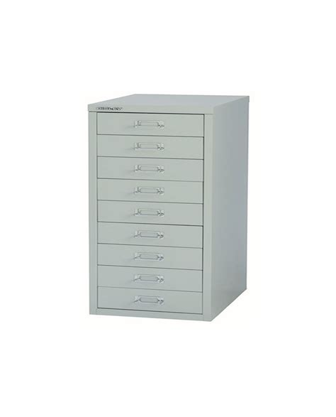 bisley 9 drawer filing cabinet bisley 9 drawer non locking multi drawer cabinet ofpdirect