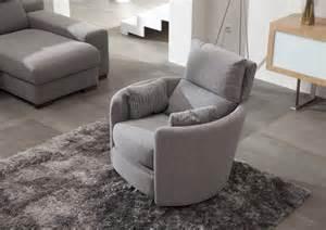 acheter votre fauteuil relax manuel pivotant en tissu chez