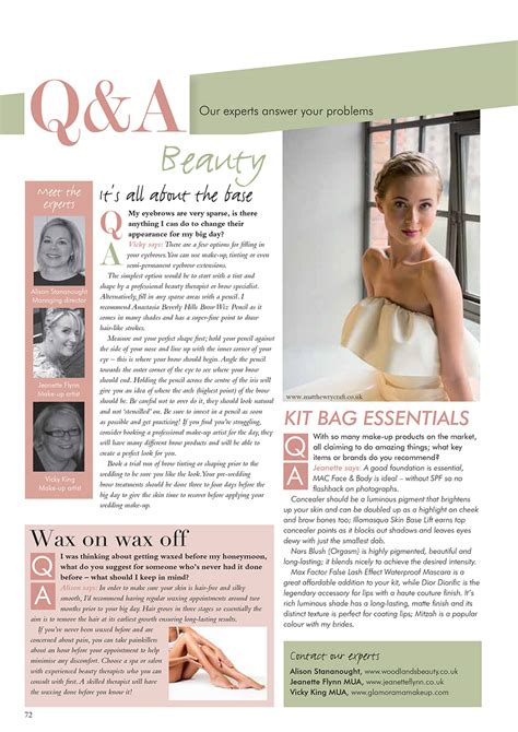 Wedding Articles In Magazines by Our Model Beth From The Titanic Shoot Makes The Magazines