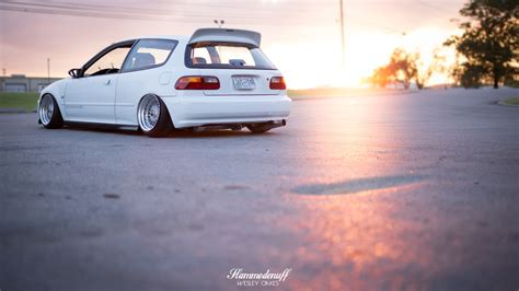Ej Knapp Can Keep His Car by Josh Sartin S 1993 Honda Civic Slammedenuff