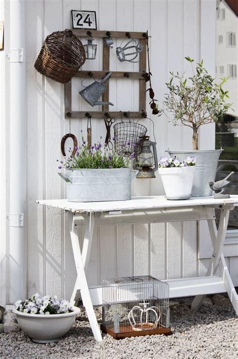 Country Garden Deko by Shabby Chic Decor Garden Storage