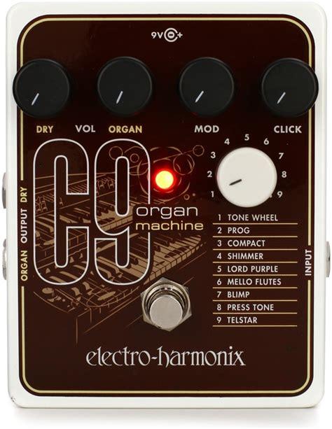 Electro Harmonix C9 Organ Machine electro harmonix c9 organ machine pedal sweetwater