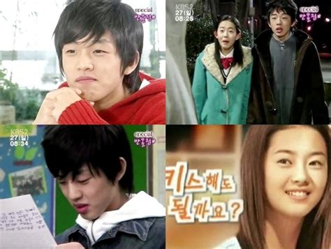 yoo ah in variety show go ara and yoo ah in garners attention for past picture