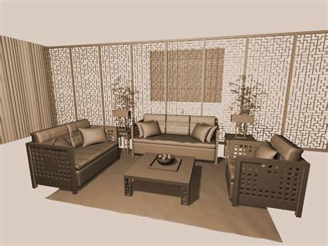 home design studio 3d objects oriental room interior design 3ds 3d studio max
