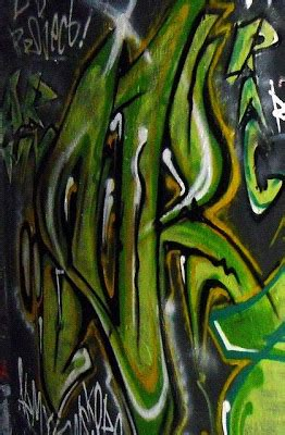 graffiti letters green graffiti alphabet letters