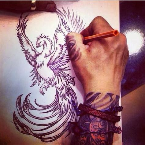 phoenix tattoos for men symbolic meanings of tattoos for