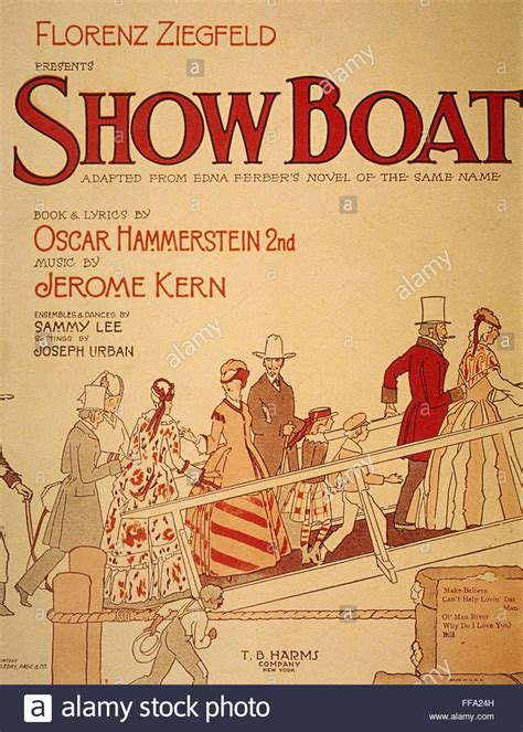 show boat musical show boat poster 1927 nposter for the original broadway