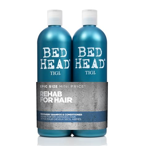 bed head urban antidotes tigi bed head urban antidotes recovery tween shoo conditioner duo 2 x 750ml