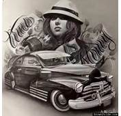 Lowrider Bomb Chicano Mexican Style Art  ArT Pinterest