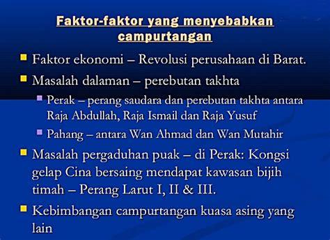 pengajian malaysia zaman penjajahan tanah melayu