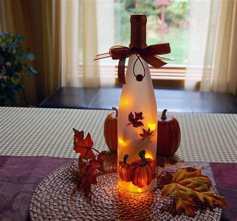 thanksgiving wine and bottle lights on pinterest
