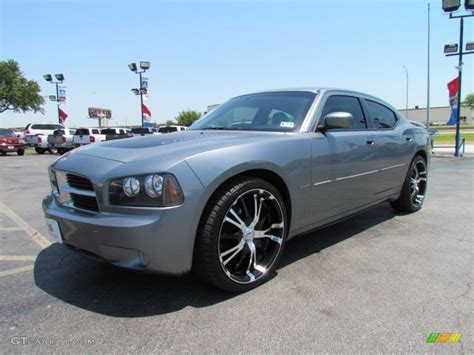 custom silver dodge charger silver steel metallic 2007 dodge charger r t exterior