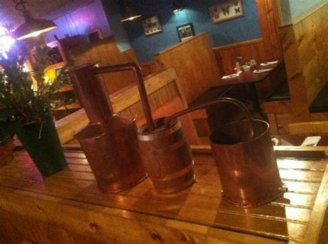Mini Keg Lamp by Miniature Still In Copper Picture Of Moonshine Grill