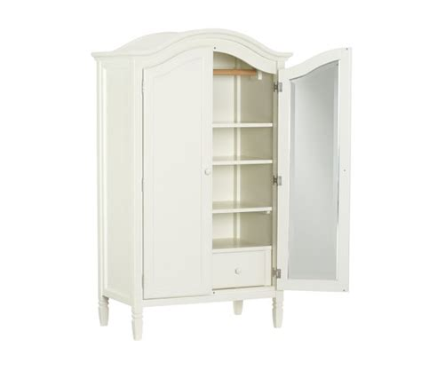 white kids armoire madeline armoire pottery barn kids