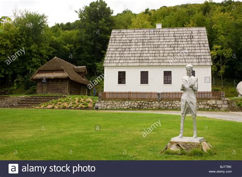 Nikola Tesla House Nikola Tesla Birth House In Smiljan Croatia Stock Photo