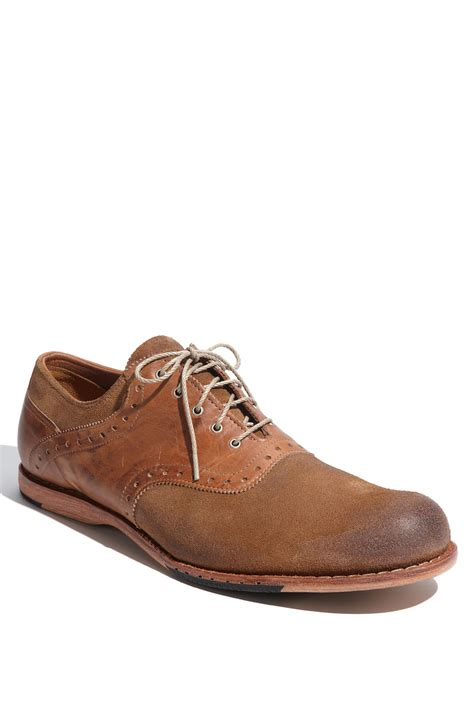 saddle shoes timberland counterpane saddle shoe in brown for lyst
